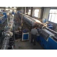 HDPE Pipe Extrusion Line / Plastic Pipe Extrusion Machine with Single Screw Manufactures