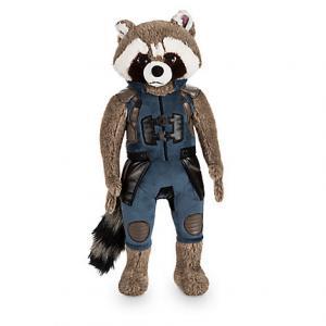 Black Lovely Original Disney Plush Toys Rocket Raccoon cartoon 40cm Manufactures