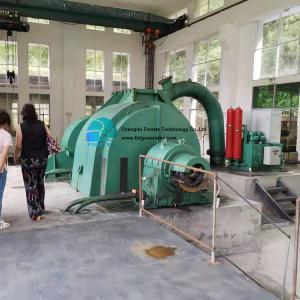 China High Pressure Anti Corrosion Pelton Turbine Generator Automation Control For Hpp on sale