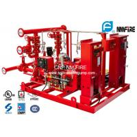 400GPM NFPA20 Fire Fighting Pump System 277 Feet For Residential / Industrial Manufactures