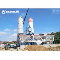 China Fully Automatic Hzs50 Concrete Batching Plant , Skip Hopper Belt Type Concrete Batching Plant on sale