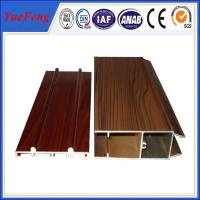 Wooden Surface Windows And Doors Aluminium Profile Extrusion For Windows And Doors Manufactures