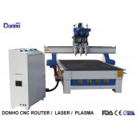 China Three Spindles CNC 3D Router Machine , CNC Engraving Machine Computer Controlled on sale