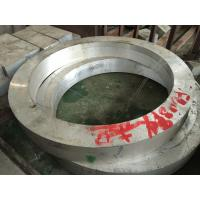 7075 T6 Aluminum Foring Parts  Aluminum Rolled Ring Forgings Used In Aerospace Industry Manufactures