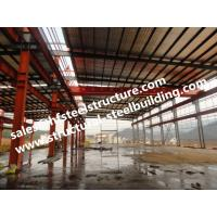 China Prefabricated And Pre-engineered Building Steel Industrial Warehouse Building on sale