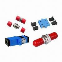 FC Fiber-optic/SC SM Simplex/SC MM Duplex Adapter with 0.2dB Insertion Loss Manufactures