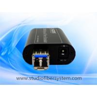 Mini HDMI fiber optical extenders for 1CH uncompressed 1080P HDMI over single mode fiber up to 10~80KM without delay Manufactures