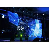 Indoor stage rental led display , Super thin P3.91 outdoor led video wall 64x64 dots Manufactures
