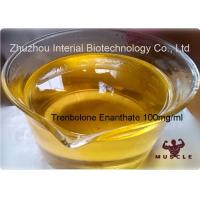Injection Bodybuilding Supplements Trenbolone Enanthate 100mg/Ml Finished Yellow Oil CAS 2322-77-2 Manufactures