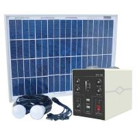 China 18V20W Solar home light 20W solar kits 20W Solar Home appliance charger solar mobile phone charger on sale
