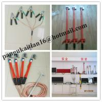 Copper grounding rod&earth rods,Short-circuit Grounding operation Pole Manufactures