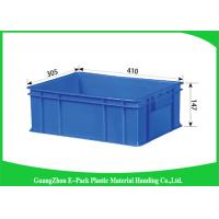 Logistics Bins Plastic Stackable Containers Moving Crates Boxes Manufactures