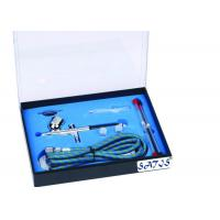 Professional Airbrush Nail Kit 7cc Cup Black Body 1.8m Hose Manufactures