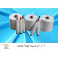 Super Bright Polyester Core Spun Yarn , Low Elongation Polyester Industrial Yarn Manufactures