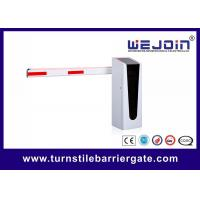 China Automatic Parking Lot Gate Control Systems Straight Boom / 90° 180° Folding Boom Barrier Gate on sale