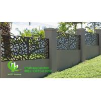 CNC cutting panel aluminum decorative sheet for facade cladding fence windows with colorful painting Manufactures