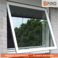 Aluminum Frame Top Hung Casement Window Powder Coating Surface Treatment Manufactures