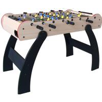 China 4pcs small balls foosball soccer table, stable square feet with 6 justers for children on sale