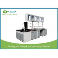 High Temperature Resistance Metal Laboratory Furniture , Chemistry Lab Tables Manufactures