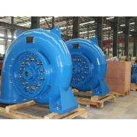 Small Hydro Turbine Generator Unit 750r/min 1.48m³/s Stainless Steel 400kW Manufactures