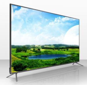 China 50 110 W Full HD Digital LED TV Silver Backlight High Contrast Ratio on sale