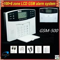Saful GSM-500 LCD display GSM Alarm System Manufactures