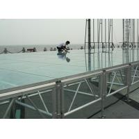 Professional18mm Acrylic Stage Platform with Adjustable Stage legs Manufactures