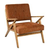 Mid - Century Modern DéCor White Upholstered ChairLounge Room With Arms Manufactures