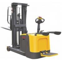 China Warehouse Reach Type Jac Forklift 1.5 Ton Stand On Mast Forward Compact Structure on sale