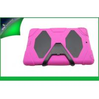 China Cute Pink Hybrid Ipad Protective Cases , Dustproof Ipad Air Cover With Stand on sale