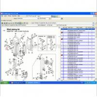 China CAT Electronic parts catalog and service manuals for CAT Lift Trucks 2008 on sale