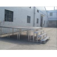 Economic Moving Portable Stage Platform 1000mm X 1000mm For Performances Manufactures