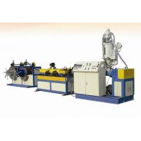 Single Wall PE PP Plastic Corrugated  Pipe Extrusion Line  High Capacity Manufactures