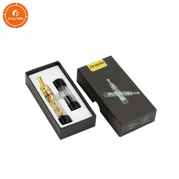 Quality E Cigarette Packaging Box Custom Liquid Vape Cartridge Case 0.19 Kg for sale