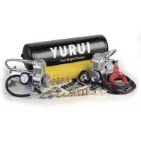 Dual Onboard Air System 12 Volt Silver Black Color With Air Tanks Fast Inflation Air Compressor For 4x4 Manufactures