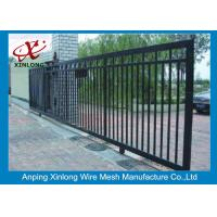 China Professional Automatic Sliding Gates Galvanized Pipe Material 1m Height on sale