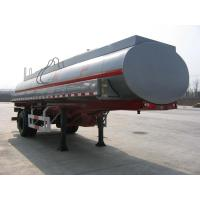 Quality 16000L-Carbon Steel Monoblock Tanker Semi-Trailer for Fuel and Water for sale