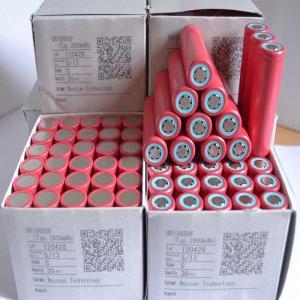 China Original Japan Sanyo 18650 2600mAh Flat Head Li-ion 3.7V Rechargeable Battery on sale