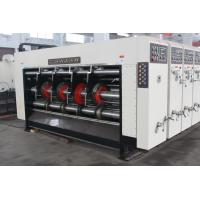 Cardboard Corrugated Box Printing Machine , Carton Slotter / Printer With Automatic Feeder Manufactures