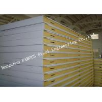 Large Refrigerated Cold Room Panel Walk In Modular Freezer Room Cooler PU Sandwich Panels 1150mm Width Manufactures