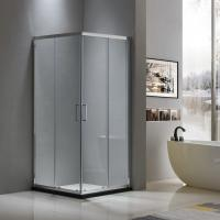 Aluminium shower enclosure 900*900 with two sliding doors and two fixed panels Manufactures