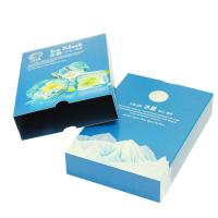 Crack Resistant Paper Packaging Box White Cardboard ISO14001 , FSC Certificates Manufactures
