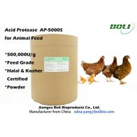 High Enzyme Activity Acid Protease Enzyme , Feed Enzymes In Poultry Nutrition Manufactures