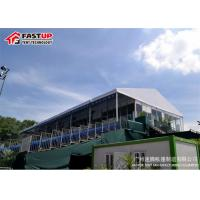China Big Structure Aluminum Frame Tent Multi Colored Free Standing OEM Available on sale