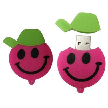 Quality promotional speical cartoon silicon power USB flash drives 1GB 2GB 4GB 8GB 16GB 32GB for sale