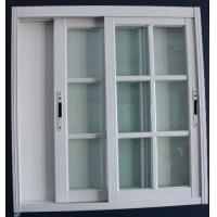 1.4mm profile thickness white material fly screen aluminum sliding windows for residential Manufactures