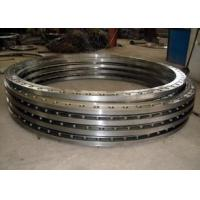 Hot rolled carbon steel flat welding flange for pipe and tube end Manufactures