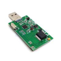 "1.8 ""Mini PCI-E mSATA USB3.0 Adapter Card Conveter externe SSD PCBA carte HG Manufactures"