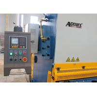 Quality Stainless Steel Shearing Machine , Hydraulic Plate Shear Cutting Machine QC12K for sale