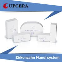 High Translucency Zirconia HT White Blank Manual System 1400Mpa Bending Strength Manufactures